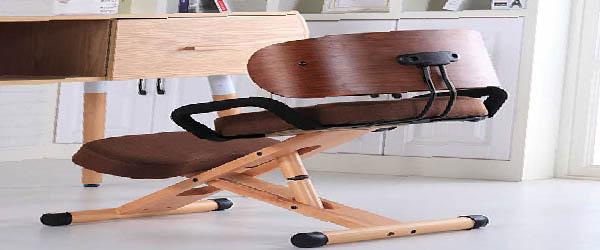 silla de rodillas de madera